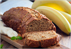 Banana bread – the perfect symbiosis of fruit and cake